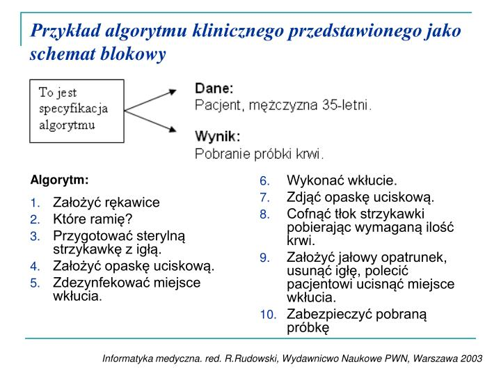 Algorytm: