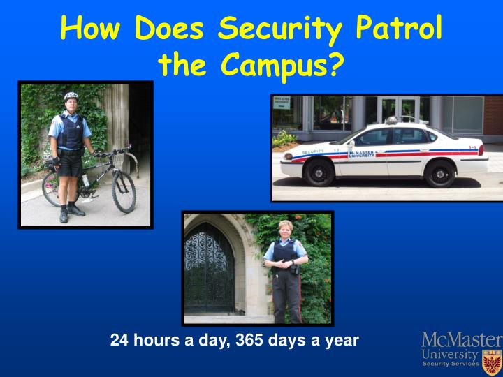 How Does Security Patrol the Campus?