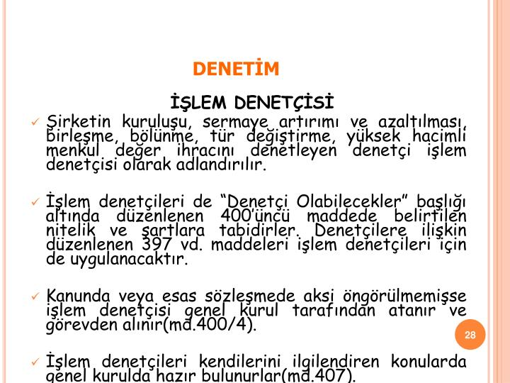 DENETİM