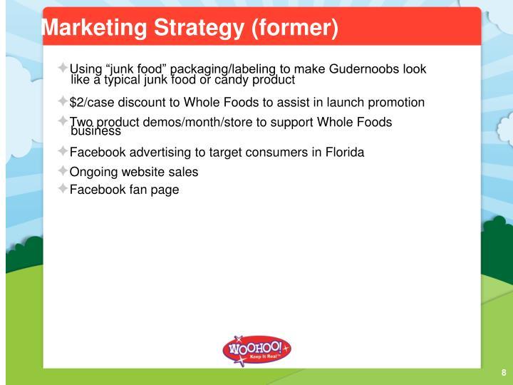 Marketing Strategy (former)