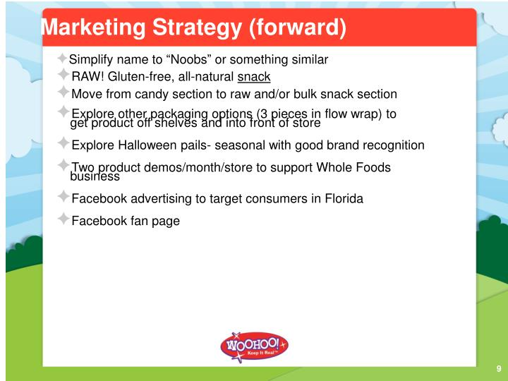 Marketing Strategy (forward)