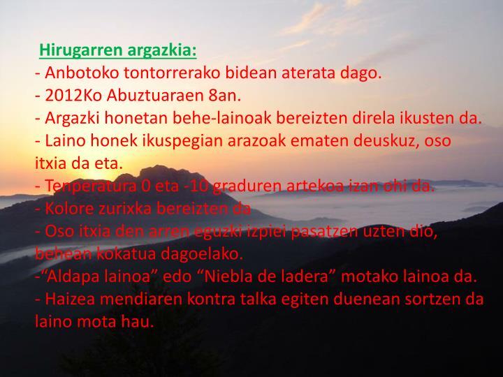 Hirugarren argazkia:
