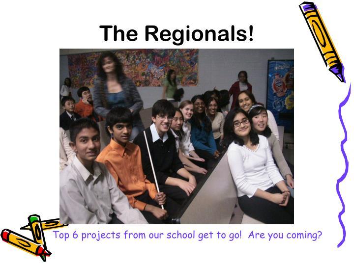 The Regionals!