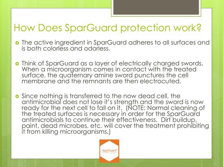 How Does SparGuard protection work?