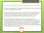 how does sparguard protection work