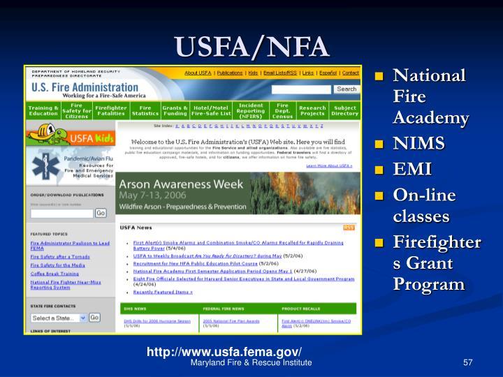 USFA/NFA
