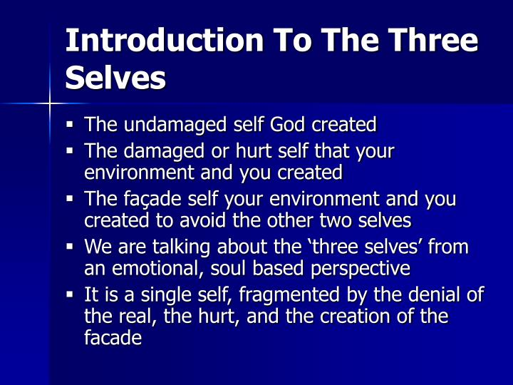 Introduction To The Three Selves