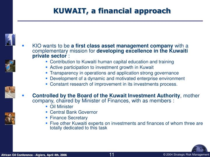 KUWAIT, a financial approach