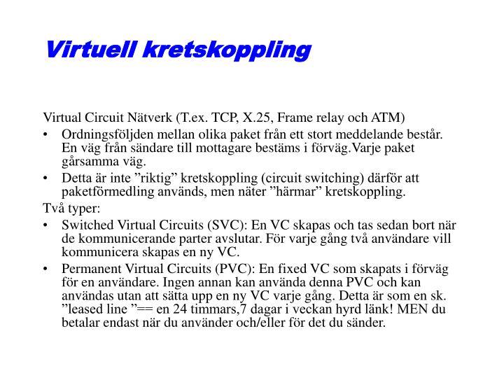 Virtuell kretskoppling