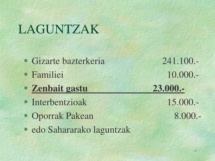 LAGUNTZAK