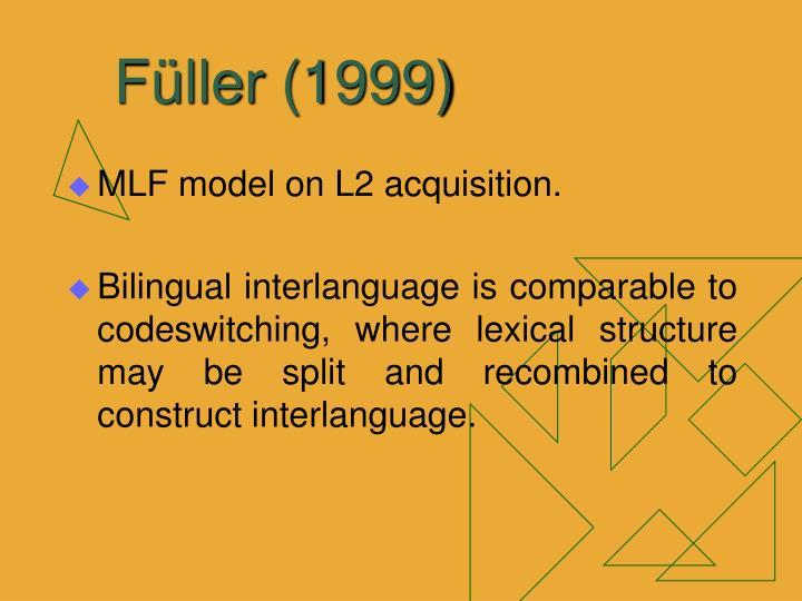 Füller (1999)