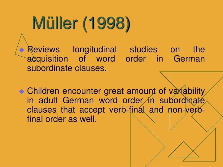 Müller (1998)