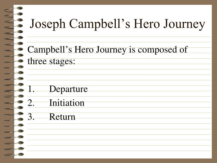 the initiation stage of a heros journey