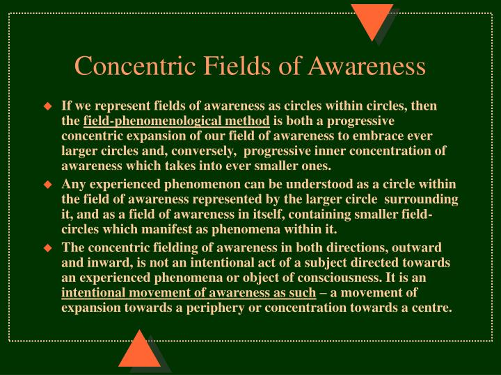 Concentric Fields of Awareness
