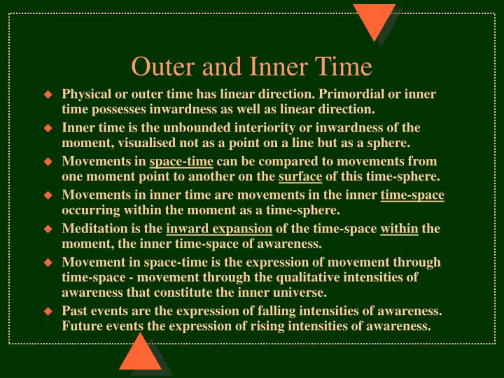 Outer and Inner Time