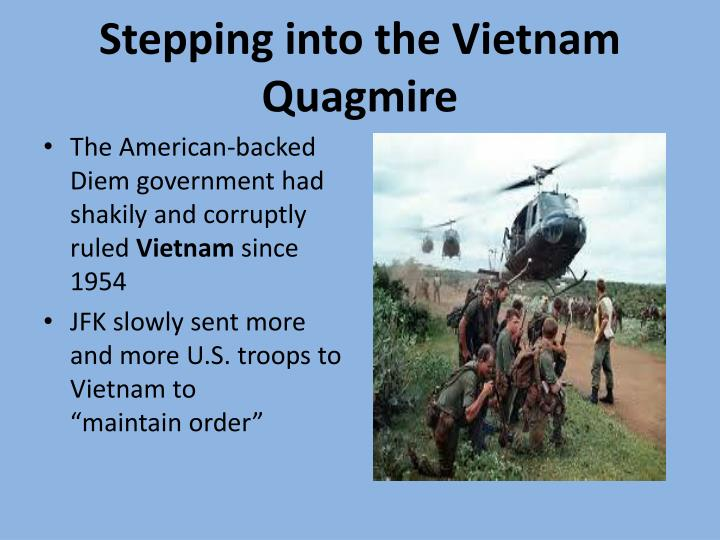 Stepping into the Vietnam Quagmire