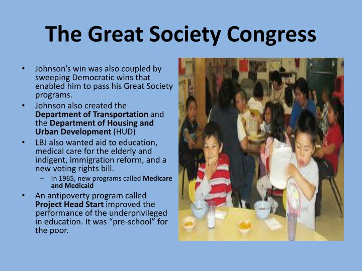 The Great Society Congress