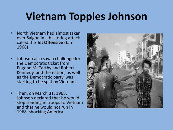 Vietnam Topples Johnson