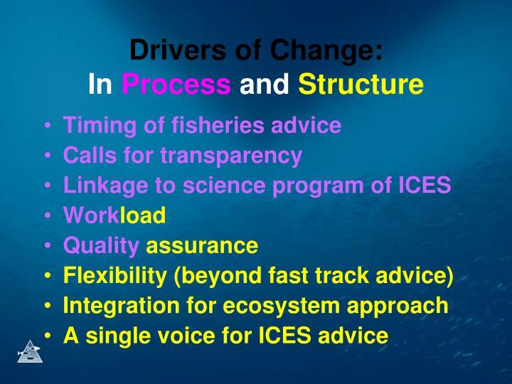 Drivers of Change: