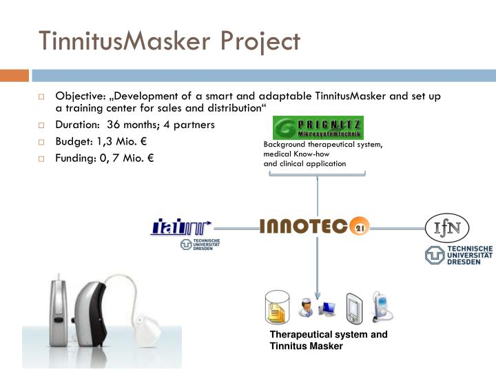 TinnitusMasker Project