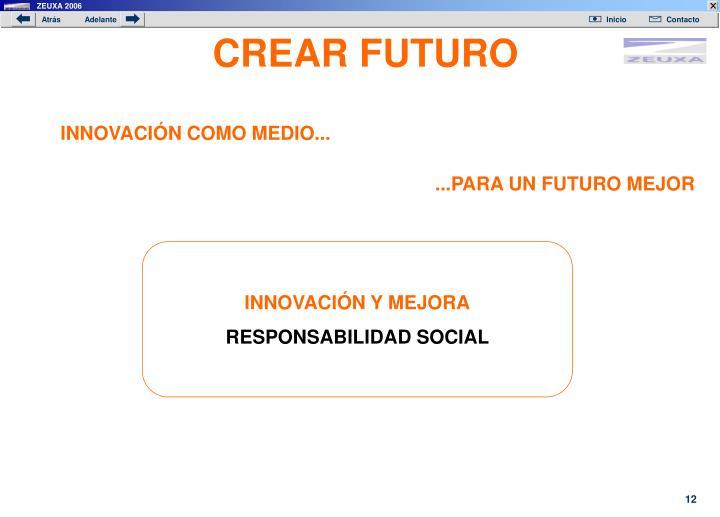 CREAR FUTURO