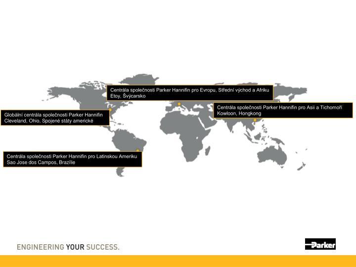 Centrála společnosti Parker Hannifin pro Evropu, Střední východ a Afriku
