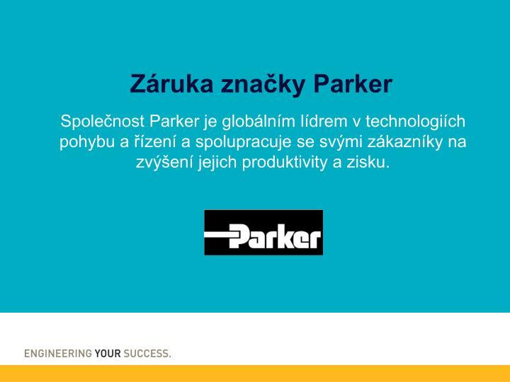 Záruka značky Parker