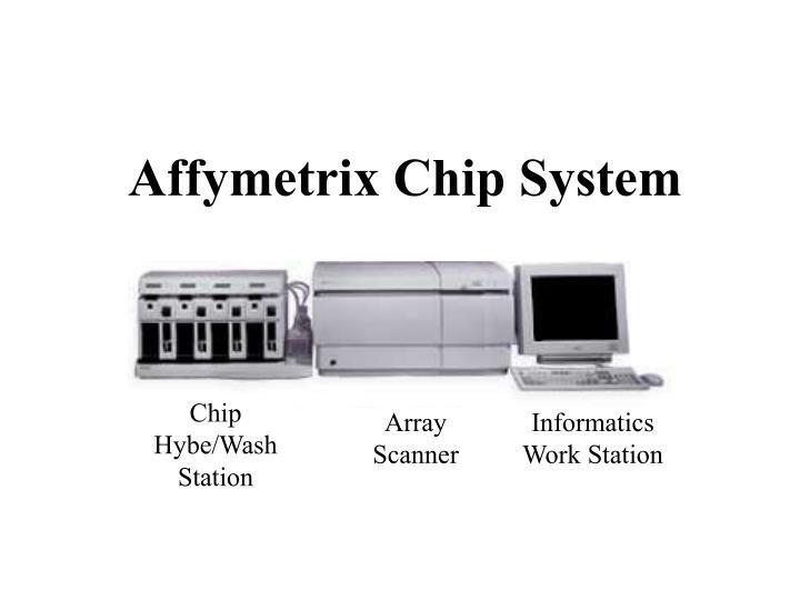 Affymetrix Chip System