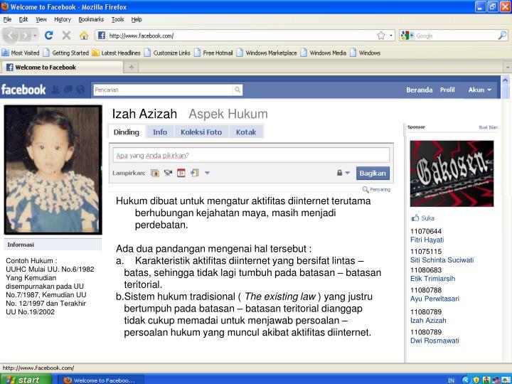 Izah Azizah