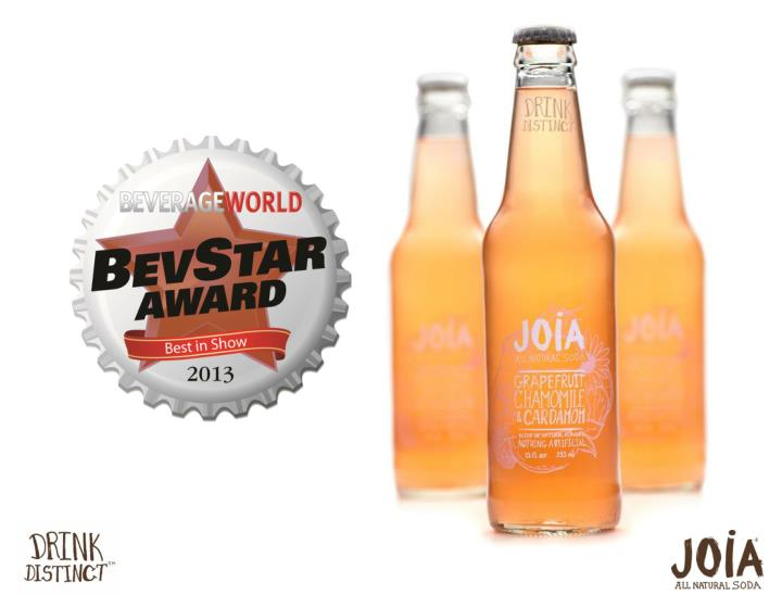 Award winning all natural soda