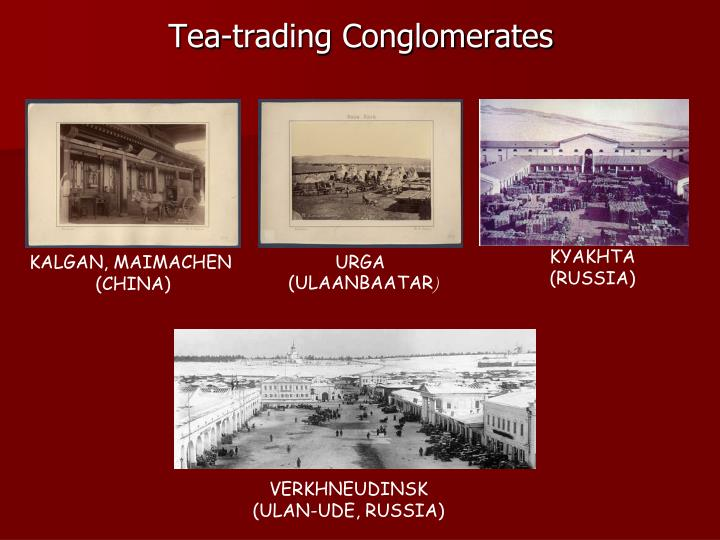 Tea trading conglomerates