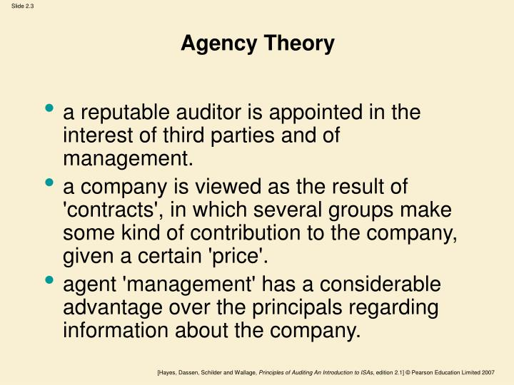 Agency Theory
