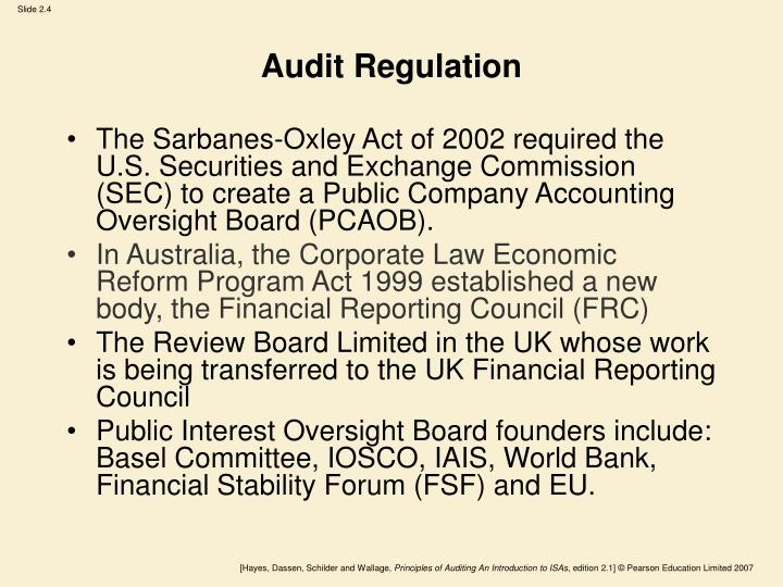 Audit Regulation