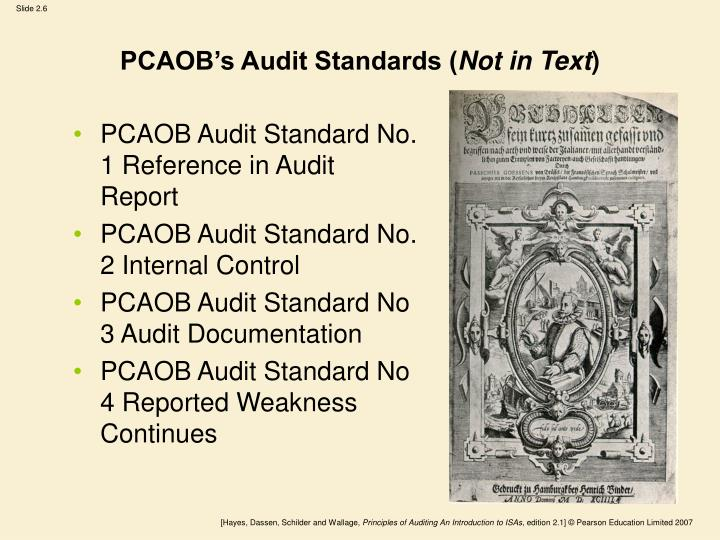 PCAOB's Audit Standards (