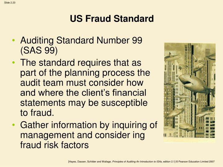 US Fraud Standard