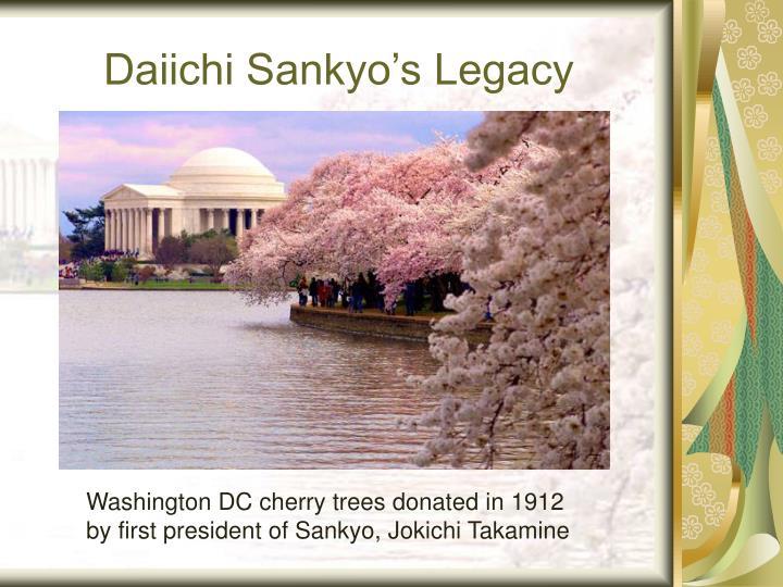 Daiichi Sankyo's Legacy