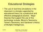 educational strategies