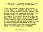 theme routing discovery