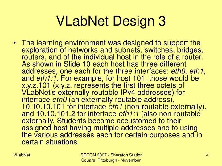 VLabNet Design 3