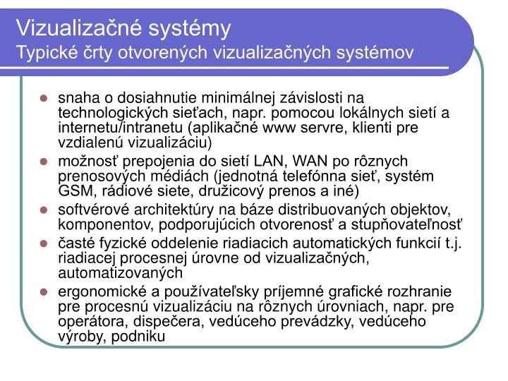Vizualizačné systémy