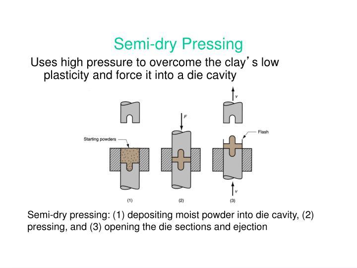 Semi-dry Pressing