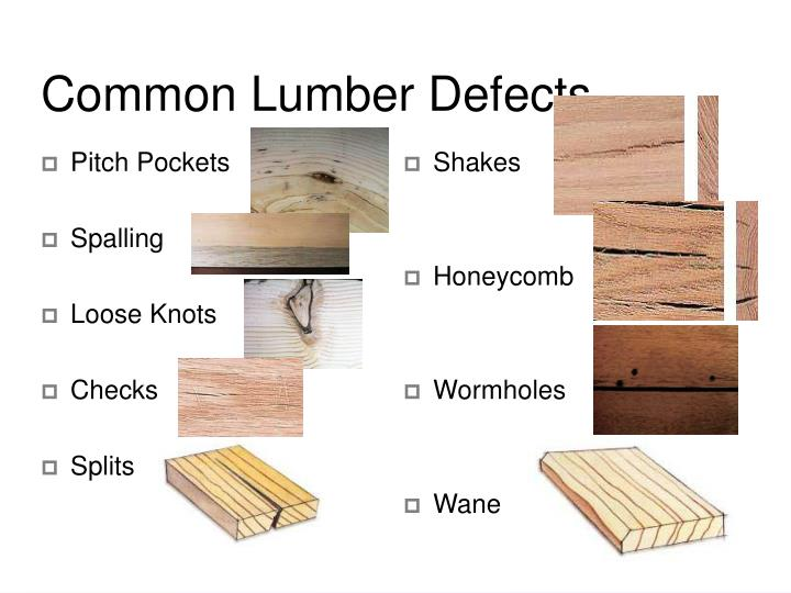 Common Lumber Defects