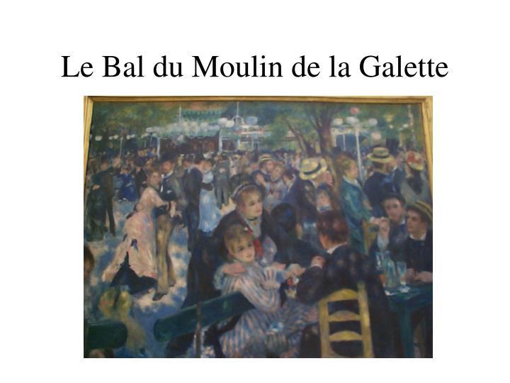 Le Bal du Moulin de la Galette