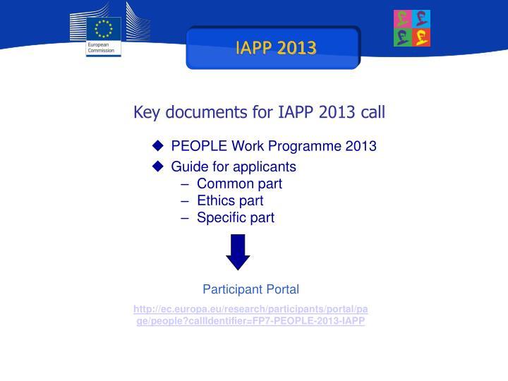 IAPP 2013