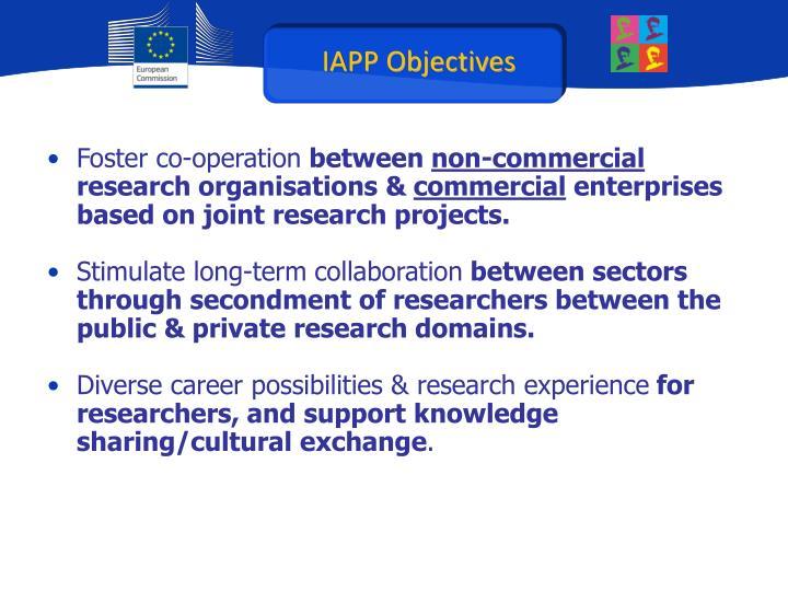 IAPP Objectives