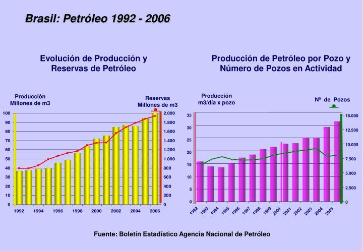 Brasil: Petróleo 1992 - 2006