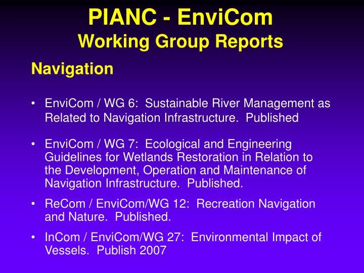PIANC - EnviCom