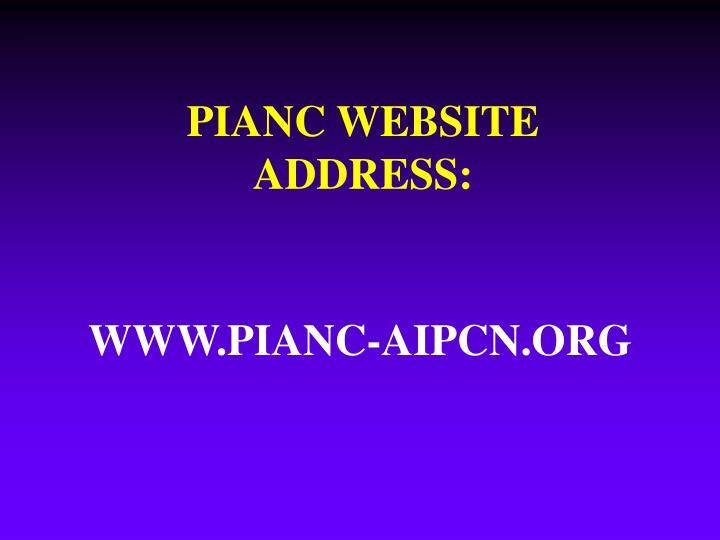 WWW.PIANC-AIPCN.ORG