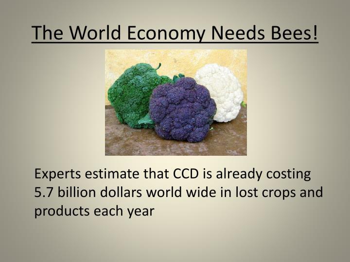 The World Economy Needs Bees!