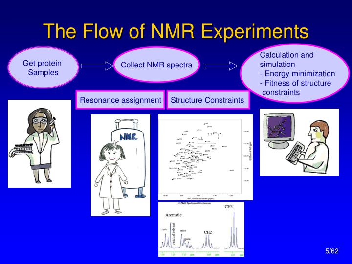 The Flow of NMR Experiments